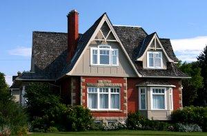 An Older Syle Home in Calgary
