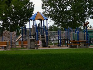 Playground, Rio Terrace, Edmonton