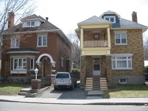 Houses in Sandy Hill