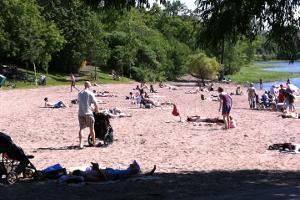 Westboro Beach in summer