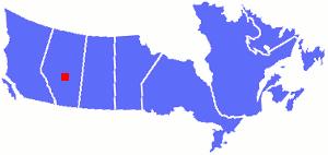 Edmonton's Location